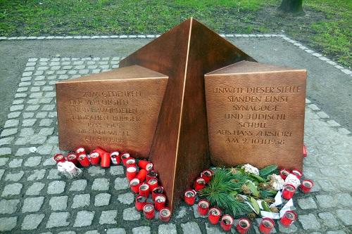 г. Везель. Памятник жертвам Холокоста.