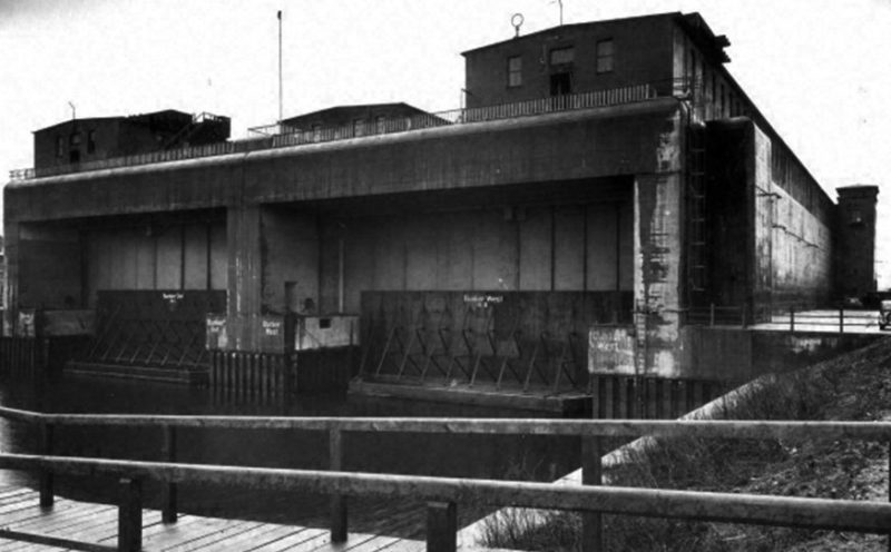 Общий вид бункера «Elbe-II». 1941 г.
