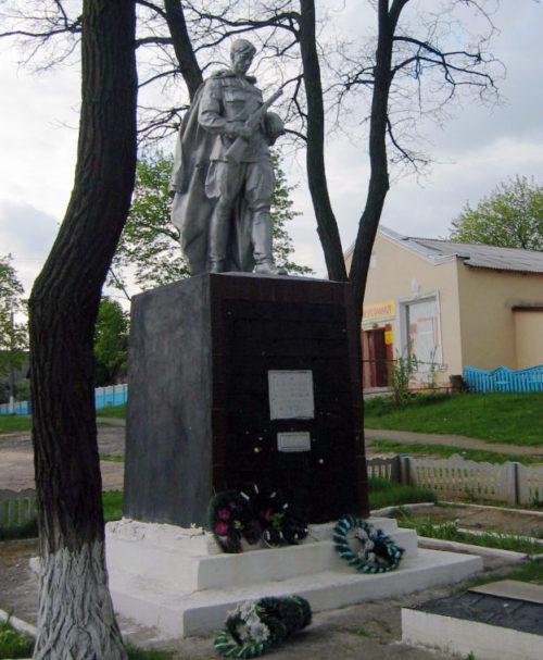 п. Светиловичи Ветковского р-на. Памятник воинам-освободителям.