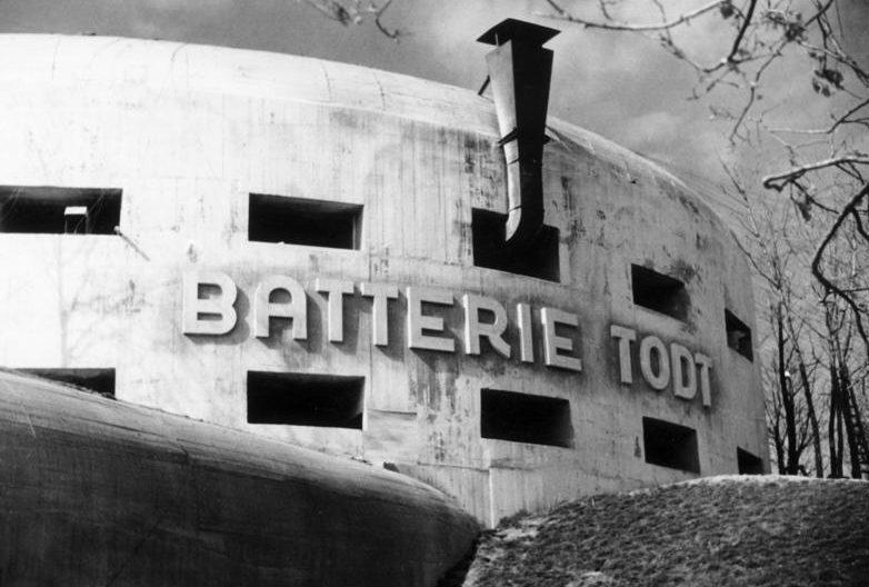 Батарея Тодта. 1942 г.
