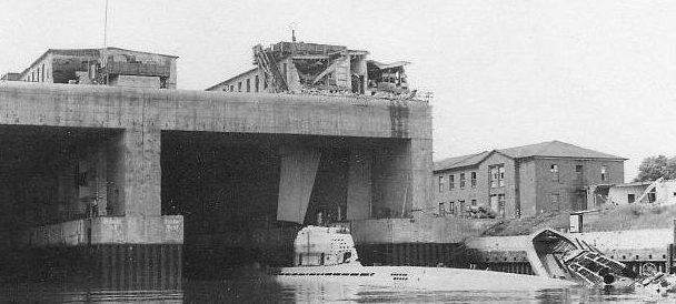 Бункер на момент окончания войны. 1945 г.