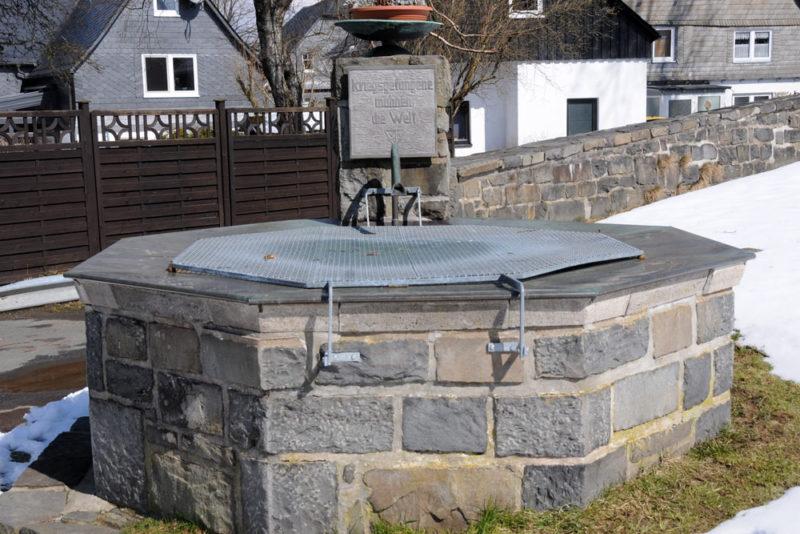 г. Винтерберг. Памятник в честь военнопленных Второй мировой войны.