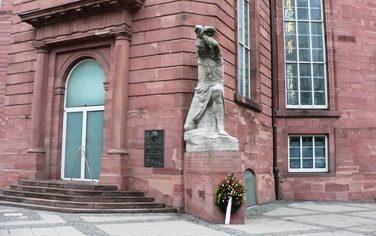 г. Франкфурт-на-Майне. Памятник жертвам национал-социализма.
