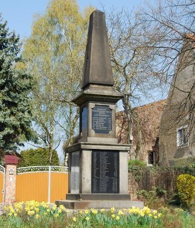 Коммуна Дисдорф. Памятник землякам, погибшим в годы обеих мировых войн.