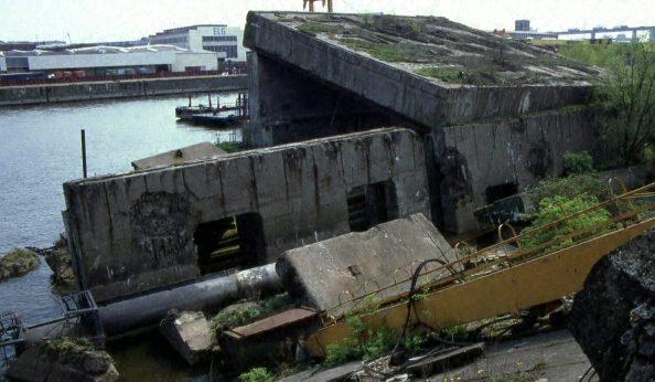 Развалины бункера «Elbe-II».