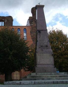 г. Зандау. Памятник землякам, погибшим в годы обеих мировых войн.