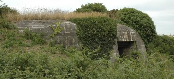 Оборонительные сооружения крепости.
