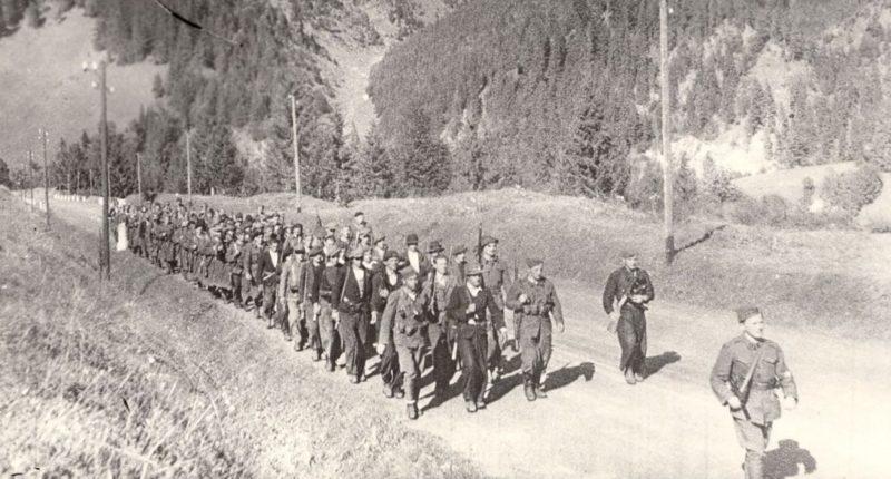 Начало восстания в Словакии. Август 1944 г.