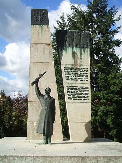 г. Зандау. Мемориал 1-й польской армии.