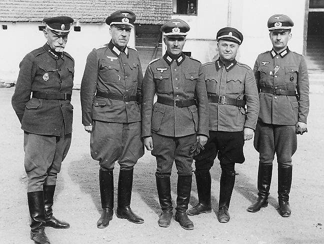 Офицеры корпуса.