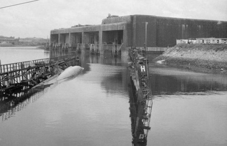 Бункер «Finch II» в конце войны в 1945 году.