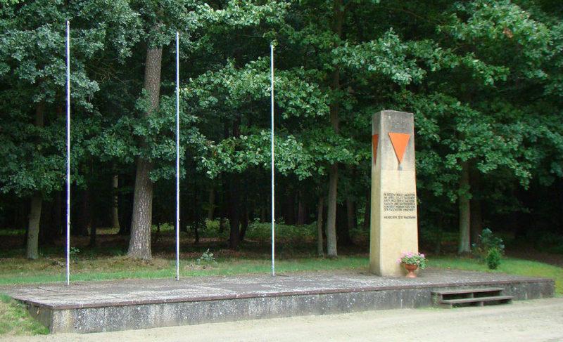 г. Витшток/Доссе. Памятник «Маршу смерти».