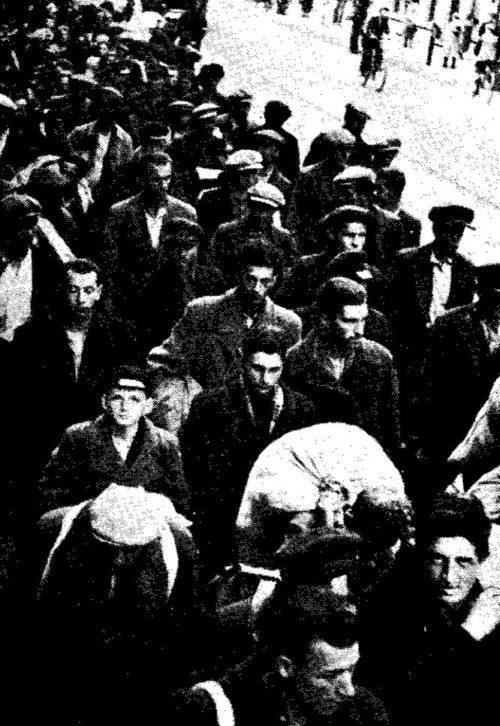 «Коммунисты и евреи отравляются в рай»: - так писала местная газета. Июль 1941 г.