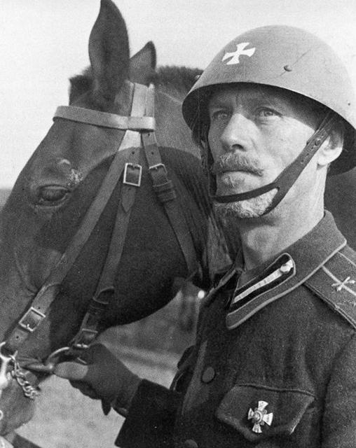 Кавалерист корпуса.