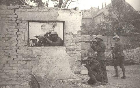 Уличные бои. Август 1944 г.