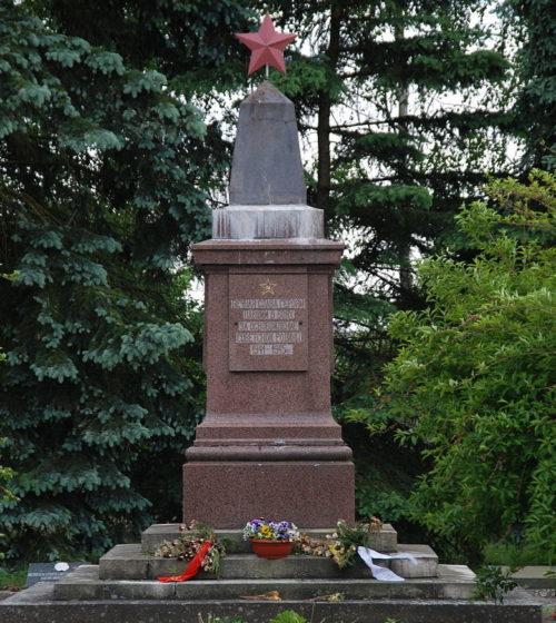 г. Гарц Одер. Памятник советским воинам.