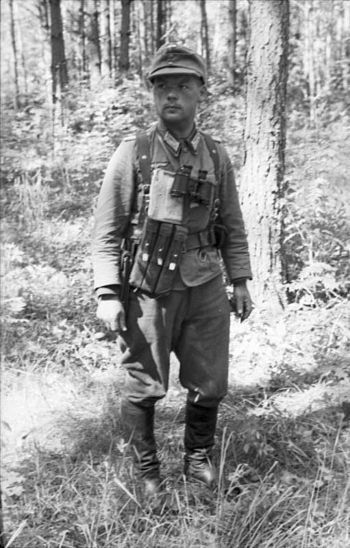 Казак 1-й казачьей кавалерийской дивизии в Югославии.
