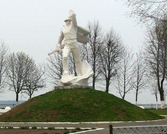 д. Малое Можейково Лидского р-на. Памятник погибшим воинам.