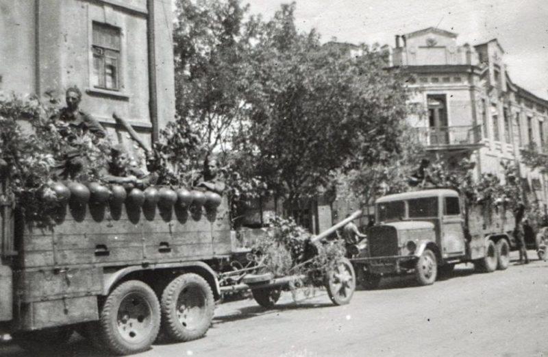 Немцы в городе. Июль 1942 г.