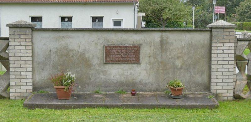 д. Брандзхаген муниципалитет Сундхаген. Памятный знак воинам Советской Армии.