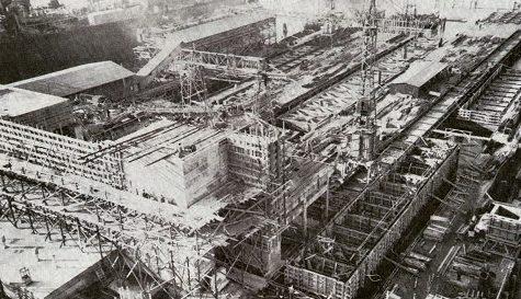 Строительство бункера. 1942 г.