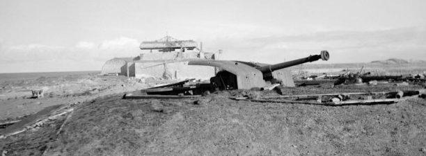 Морское орудие крепости «Вальхерен».