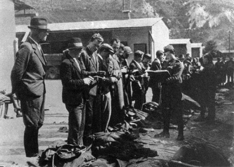 Запись добровольцев. Август 1944 г.