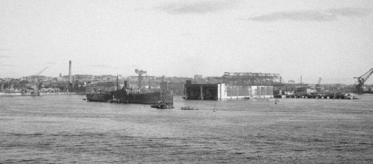 Бункер «Kilian» перед взрывом. Октябрь, 1946 год.