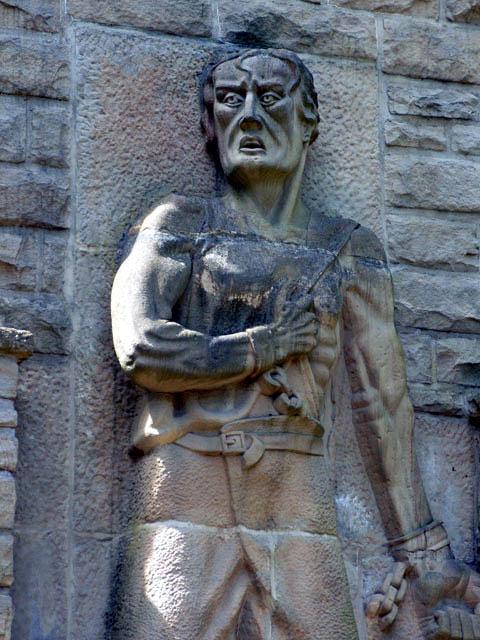 Барельеф на центральном памятнике.