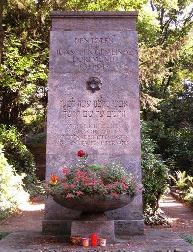 г. Дортмунд. Памятники жертвам Холокоста на восточном кладбище города.