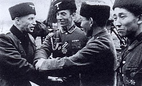 Калмыцкие добровольцы.