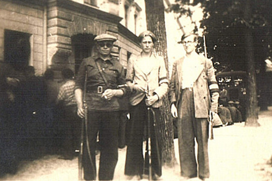 Латвийские «патриоты» на службе у немцев. Лето 1941 г.