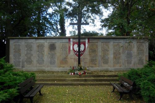 г. Дортмунд. Мемориал на еврейском кладбище посвящен погибшим польским подневольным работникам.
