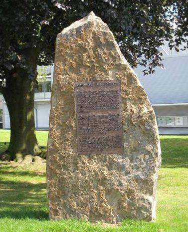г. Дортмунд. Памятный знак на месте концлагеря «Stammlager VI D», в котором содержалось 70 тысяч военнопленных.