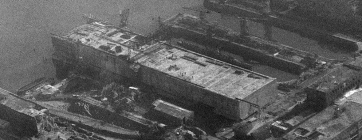 Вид на бункер с высоты. 1944 г.
