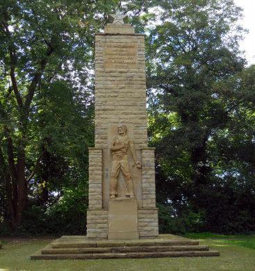 г. Дортмунд. Памятник на еврейском кладбище в честь 5 095 советских подневольных работников, погибших во Второй мировой войне.