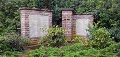 Коммуна Мисте. Памятник землякам, погибшим в годы обеих мировых войн.