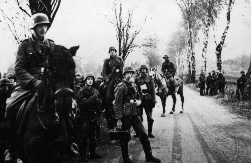 Солдаты легиона в СССР. Сентябрь 1941 г.