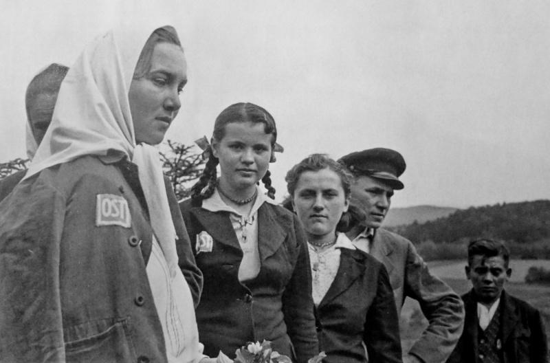 Выходной на ферме. 1943 г.