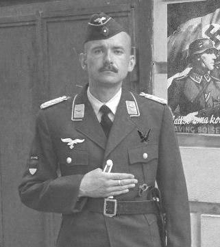 Служащий эстонского подразделения Люфтваффе.