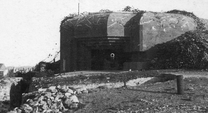 Одно из четырех 105-мм орудий батареи «Grand Bey».