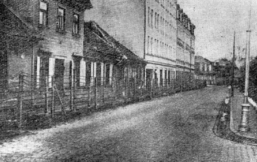 Еврейское гетто в Риге. 1942 г.