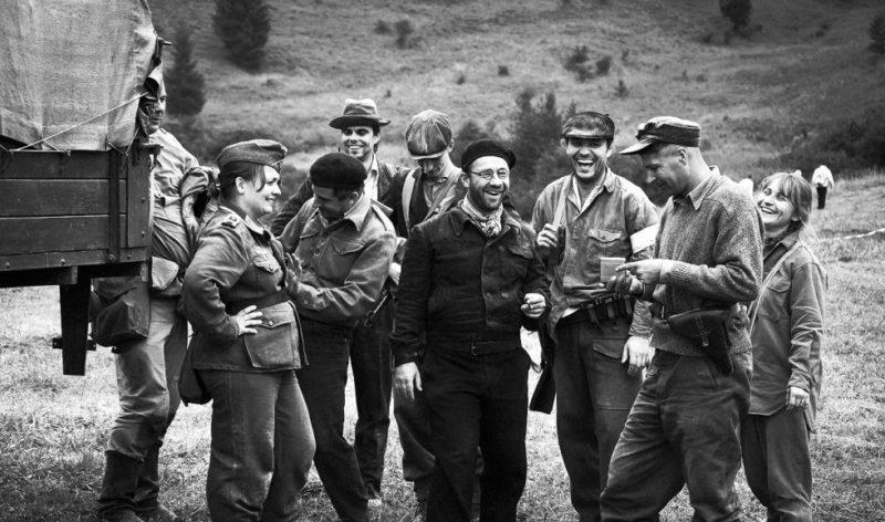 Партизаны в горах. Сентябрь 1944 г.