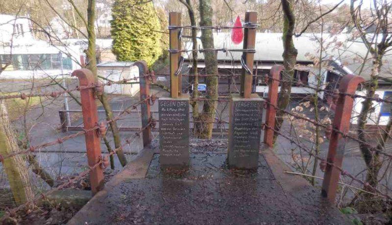 г. Золинген. Памятник на братской могиле 55 цыган, погибших в Аушвице-Биркенау.