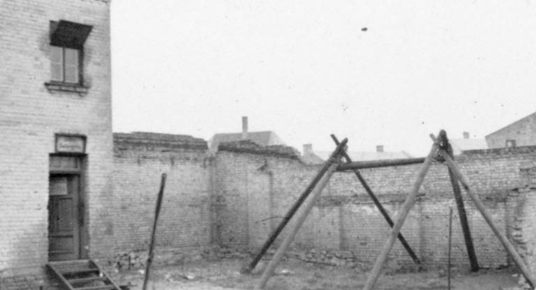 Виселица в гетто. 1942 г.
