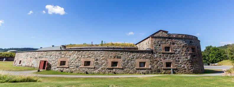 Главный корпус форта.