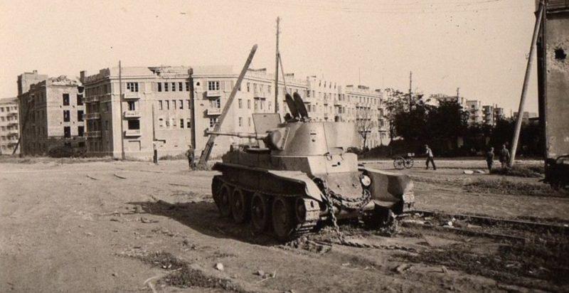 После ухода Красной Армии. Июль 1942 г.