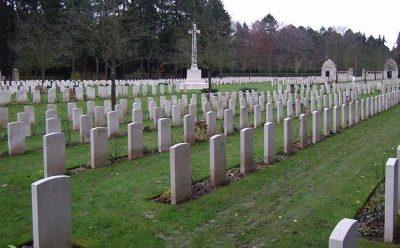 Британское военное кладбище.