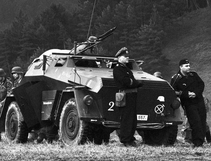 Каратели в горах. Октябрь 1944 г.