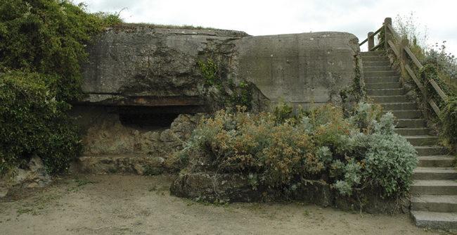 Бункеры форта.